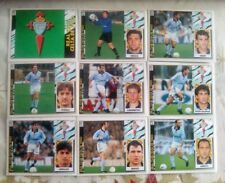 LOTE DE 25 CROMOS DEL CELTA DE VIGO 97-98 DIFERENTES, SIN PEGAR 1997-98, LEER!!.