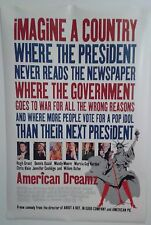 """AMERICAN DREAMZ double sided movie poster 27""""x 40"""""""