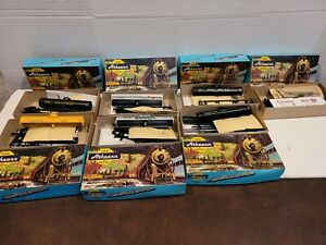 Lot of 7 ATHEARN HO Trains in Miniature NOS Orig Boxes Warren, Phillip Tank Car