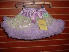 New KAIYA EVE Size 18 Mo + Yellow Lavender + Tutu Fluffy Pettiskirt Crinoline DD