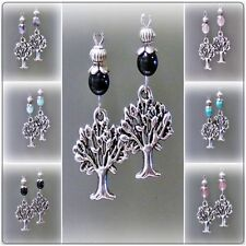 Flowers & Plants Stone Fashion Earrings