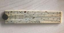 More details for antique sector ruler bovine bone rule @ 1880