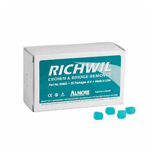 Almore 33800 Richwil Adhesive Resin Crown & Bridge Remover Box of 50 Removers
