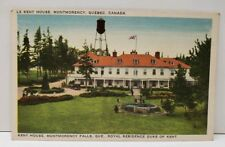 Quebec Canadan LE Lent House Montmorency Royal Residency of Duke  Postcard A8