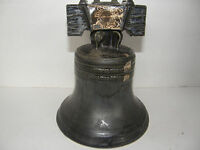 VINTAGE  1969 MITCHER'S EMPTY LIBERTY BELL DECANTER-GREAT COLLECTABLE