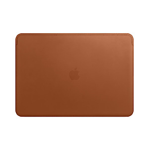 """Apple Carrying Case Sleeve for 38.1 Cm 15"""" Macbook Pro Saddle Brown Leather"""