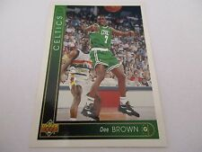 Carte NBA UPPER DECK 1993-94 FR #40 Dee Brown Boston Celtics