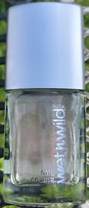 Wet n Wild 10ml shimmer clear nail polish varnish with iron quick dry FREEPOST