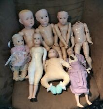 Lot Of Vintage VERNON SEELEY Collectible & Other Porcelain DOLLS w/Bodies France