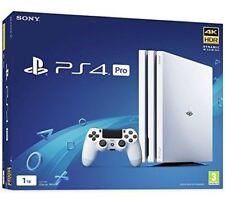 Sony PlayStation PS4 Pro 1TB 4K Console WHITE New Sealed Qik Shipn Wrnty *