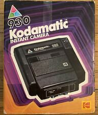 VINTAGE KODAK 930 KODAMATIC INSTANT CAMERA NEW IN BOX NEVER USED FREE SHIPPING