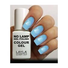 Nuove Tonalita' in Assortimento Layla no Lamp Gel Polish Semipermanente Promo N° 18 Breezy Blue