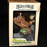 Kurt S Adler Field and Stream Outdoor Adventures Deer Christmas Ornament
