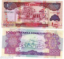 SOMALILAND Billet 1000 SHILLINGS 2011 2012 PNL NEW NOUVEA NEUF UNC