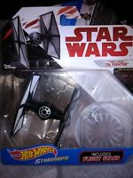 Hot Wheels STARSHIPS: First Order TIE Fighter w/STAND Disney Star Wars FREE S/H