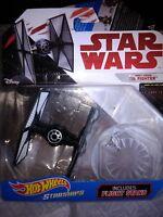 Hot Wheels STARSHIPS: First Order TIE Fighter w/Flight Stand Star Wars Die-Cast