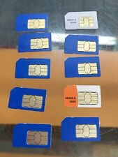 Lot Of 10 New At&T Sim Card 3G/4G Prepaid Go Phone 3G Sku 6006a Upc 607375060051