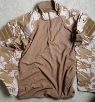 BRITISH ARMY DESERT (UBACS) UNDER BODY ARMOUR COMBAT SHIRT / GRADE - 1