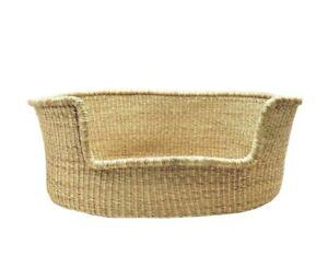 Zurirose Co Large Woven Bolga Dog Basket Bed Brand New Zuri Rose Moses