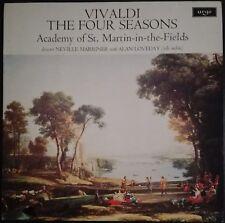 Vivaldi - Four Seasons, Vier Jahreszeiten, MARRINER, ALAN LOVEDAY, Argo ZRG 654