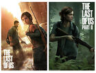 """THE LAST OF US - PART I & II - GAMING POSTER SET (GAME COVERS) (SIZE: 24""""x 36"""")"""