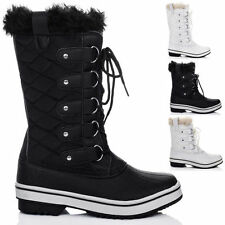 Unbranded Snow, Winter Lace Up Synthetic Women's Boots