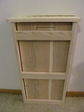 Space Saver Pull Up Wall Table RAW Ash Hardwood RV Van Apartment Boat You Stain