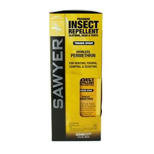 Sawyer SP649 Permethrin Insect Repellent. Clothing & Gear 12FL.OZ / 355ml