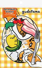 Sanrio Gudetama Decoration/Decal Stickers with File