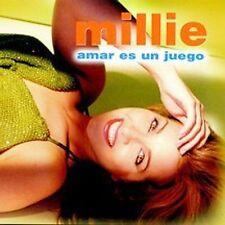 Audio CD Amar Es Un Juego - Millie - Free Shipping
