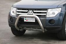 "Mitsubishi Pajero mk4 2007-2015 Ø76mm BULL BAR NUDGE BAR ""CE APPROVED""Frontbügel"