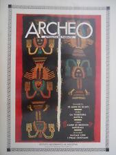 ARCHEO 10 1985 Perù: la tessitura antica. Dossier: Natale con i primi cristiani