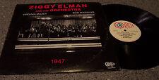 "Ziggy Elman & His Orchestra ""1947"" CIRCLE MONO JAZZ LP BOB MANNING & V. MAXEY"