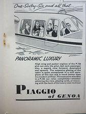 2/1962 PUB PIAGGIO OF GENOA AVION PIAGGIO P.166 AIRCRAFT ORIGINAL ADVERT
