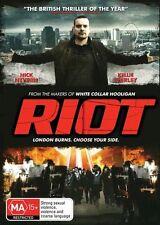 Riot (DVD, 2013) ACTION [Region 4] NEW/SEALED White Collar Hooligan