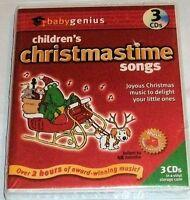 Baby Genius Children's Christmastime Songs 3-CD Set