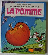 JUNGLE en FOLIE La Pomme DELINX Children Book 1974