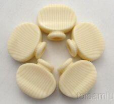 Banjo Tuner Machine Heads  5p  Acrylic button,Ivory color, CNC made, BI