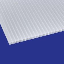 Stegplatte 16mm Doppelstegplatten Polycarbonat Hohlkammerplatte opal 16,99€/m²