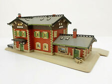 50111 Railway Station Waldbronn Pc. Villiers Beautiful Model, Vollmer N Gauge No