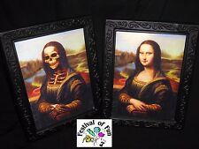 Monster Lisa 3D Horror Portrait - Changing Picture - Spooky Halloween Prop x1