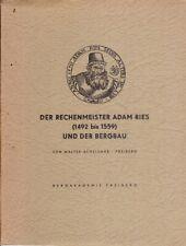 Der Rechenmeister Adam Ries (1492 bis 1559) und der Bergbau, Mappe mit 3 Heften