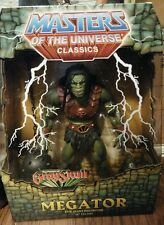 "NIB Original Masters of the Universe MOTU Classics 12"" MEGATOR He Man Figure"