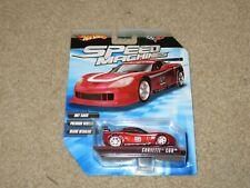 Hot Wheels Speed Machines Chevy Corvette C6R Red 1:64 MOC 2009