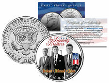 KENNEDY BROTHERS John Robert Ted 2014 50th Anniversary JFK Half Dollar U.S. Coin