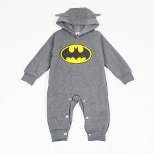Newborn Baby Girls Boys Cotton Long Romper Bodysuit Jumpsuit Clothes Outfits Set
