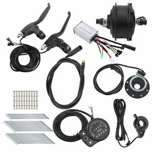 48V 250W High Quality Motor 24in 12G With KT900S Meter E‑bike Conversion Kit