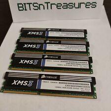 New listing Corsair Cmx16Gx3M4A1333C9 Xms3 16Gb 4x4Gb Ddr3 1333Mhz C9 Memory Kit 1.5V