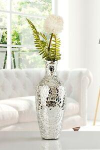 """16"""" H Vase Mirror Mosaic In Flower design"""
