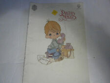 1982 Precious Moments Dear Jon Cross Stitch Pattern Booklet Lord Love Miracle